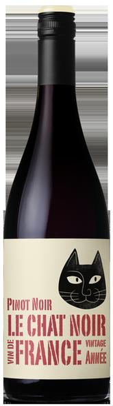 Le Chat Noir Pinot Noir 2019 (12 x 750mL), France.