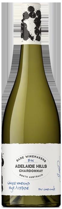 Bare Wine Makers Adelaide Hills Chardonnay 2020 (12x 750mL)