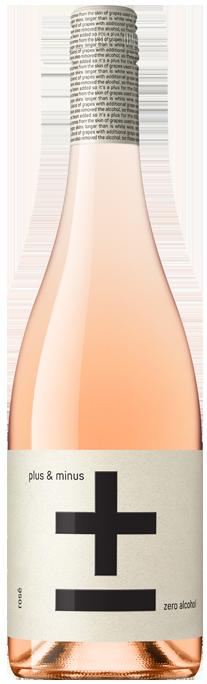 Plus & Minus (Zero Alcohol) Rose 2020 (6x 750mL)