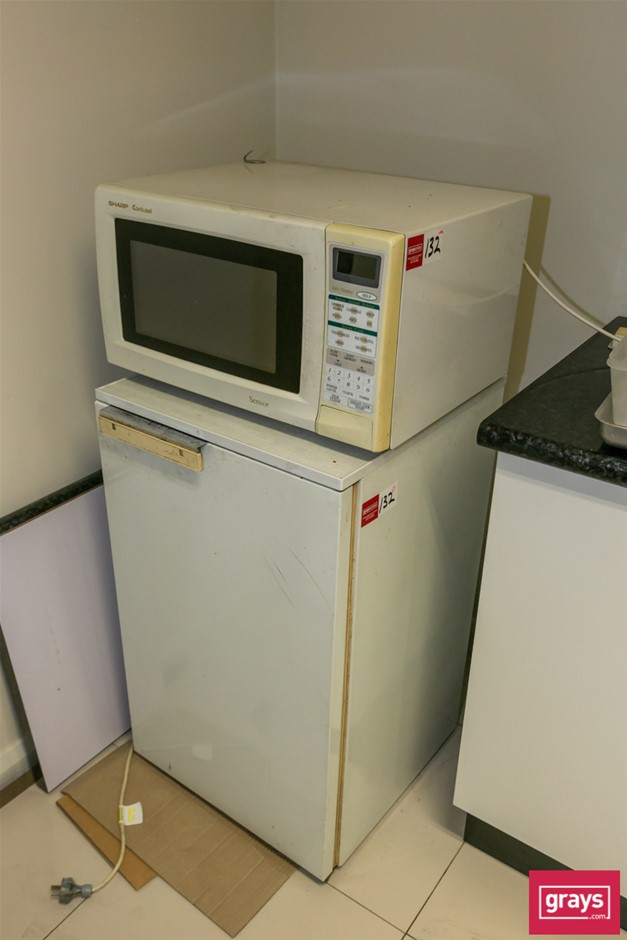 Refrigerator & Microwave Oven