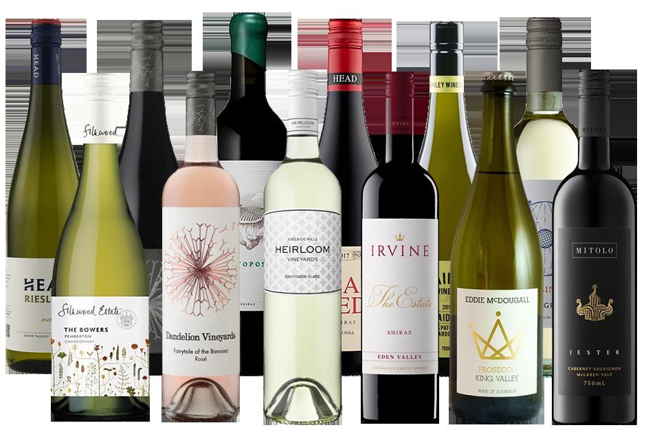Wine Advisors Choice Mixed Dozen Pack 2 (12x 750mL) Mixed Regions