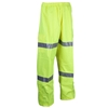 4 x ACE Hi-Vis Breathable Rain Pants, Size M with 3M Reflective Tape, Elast