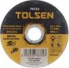 25 x TOLSEN Flat Cut-Off Wheels, 4-1/2`` x 1/25`` x 7/8ins, Metal Stainless