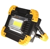 Portable LED Flood Light, 20W with Rechargeable Batteries, USB Charging Int