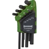 SIDCHROME 8pc AF Short Hex Key Set 3/32`` to 3/4``. Buyers Note - Discount