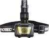 IPROTEC Produo Headlamp, 90 Degree Tilting with Dual Adjustable Head Straps