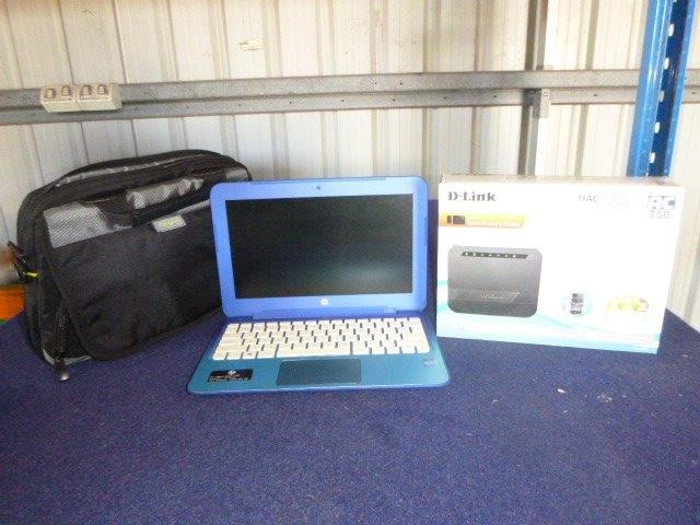 HP / D Link / Targus 3160HMW Mini Laptop with Modem and Carry Case
