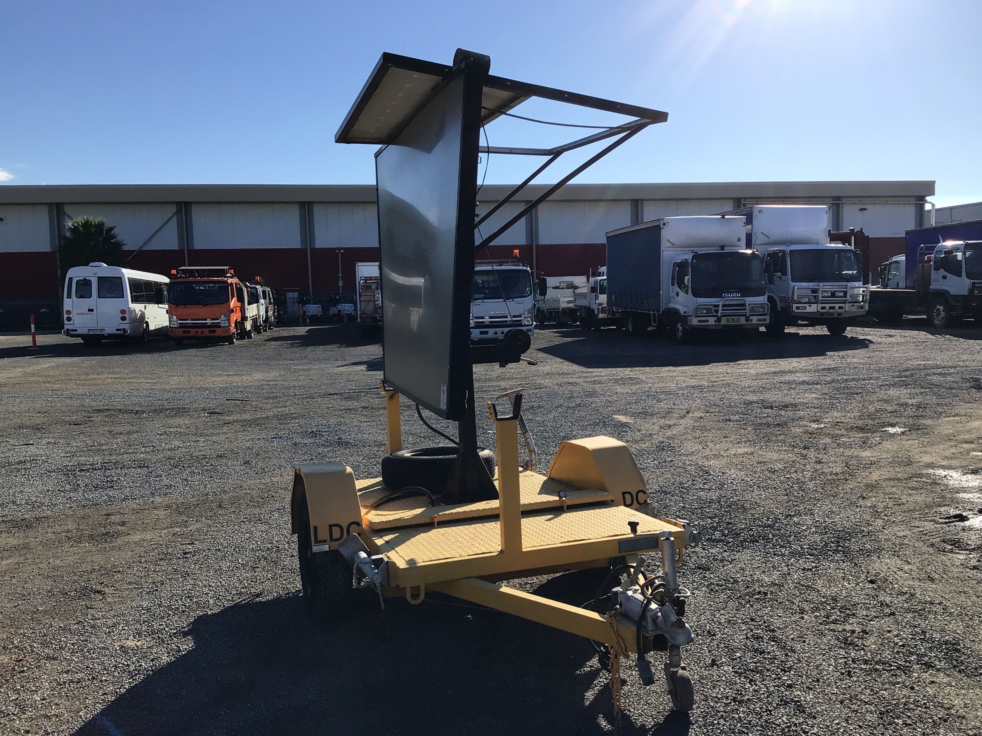 2011 GIGA SIGNS 1306P Single Variable Message Sign Trailer