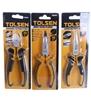 TOLSEN 3pc Pier Set Comprising 160mm, Comprising; Diagonal, Long Nose & Ben