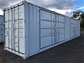 Unreserved Unused 2021 40ft Side Opening Container