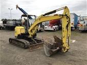 Yanmar V1055-5B Hydraulic Excavators