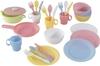 KidKraft 63027 27pc Cookware Set, Pastel. Buyers Note - Discount Freight Ra