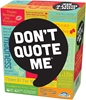 OUTSET MEDIA Don`t Quote Me Card Game, Categories include; Pop Culture, Lea