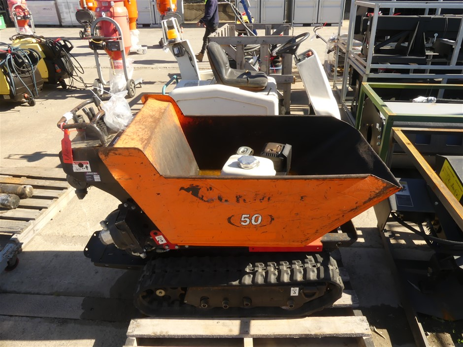 2013 Cormidi 065Q-1 Walk Behind Dumping Unit on Rubber Tracks