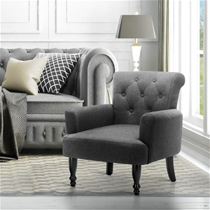 Wingback Lothair Armchair Accent Loung C