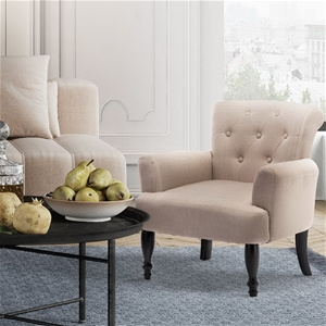 Artiss French Lorraine Chair Retro Wing
