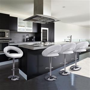 Artiss 4x Bar Stools RIO Kitchen Swivel