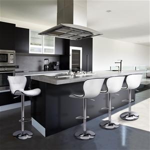 Artiss 4x Bar Stools RUBY Kitchen Swivel