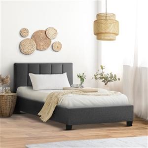 ANNA Bed Frame King Single Size Mattress