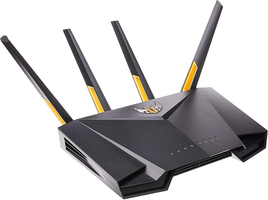 ASUS TUF Gaming AX3000 Dual Band WiFi 6 Gaming Router, 5GHz, 19 Volts. Buye