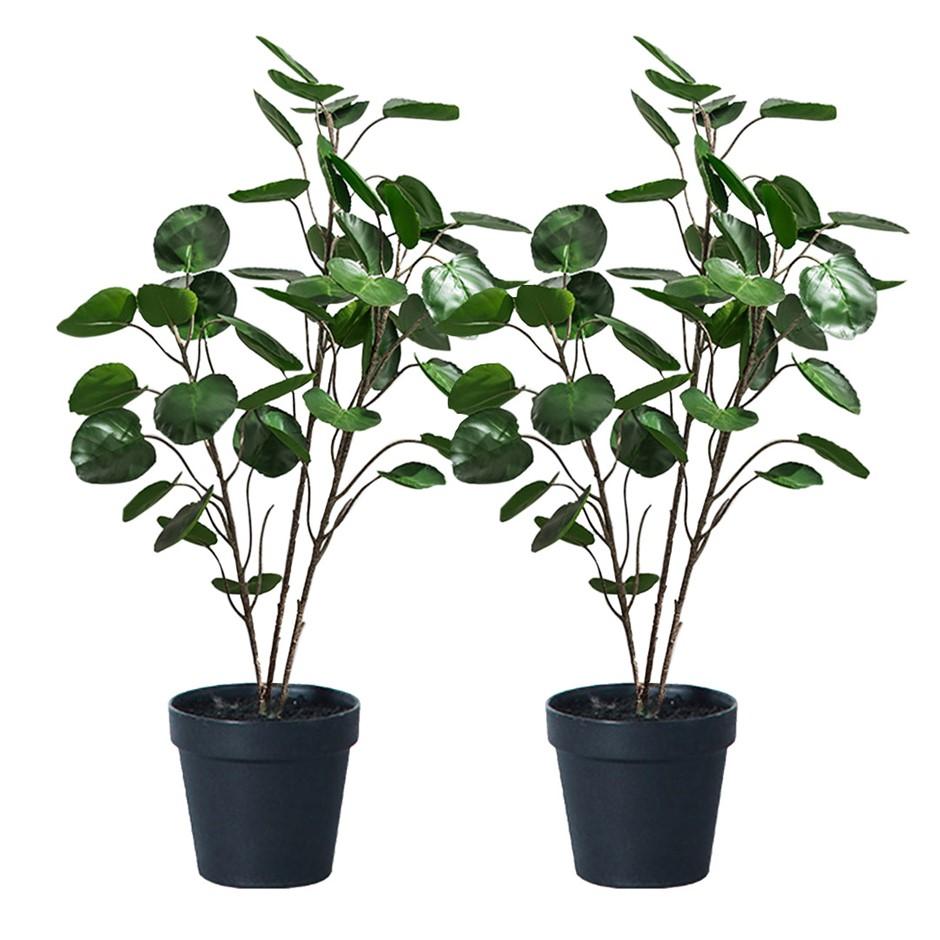 SOGA 2X 95cm Artificial Indoor Pocket Money Tree Fake Plant Simulation