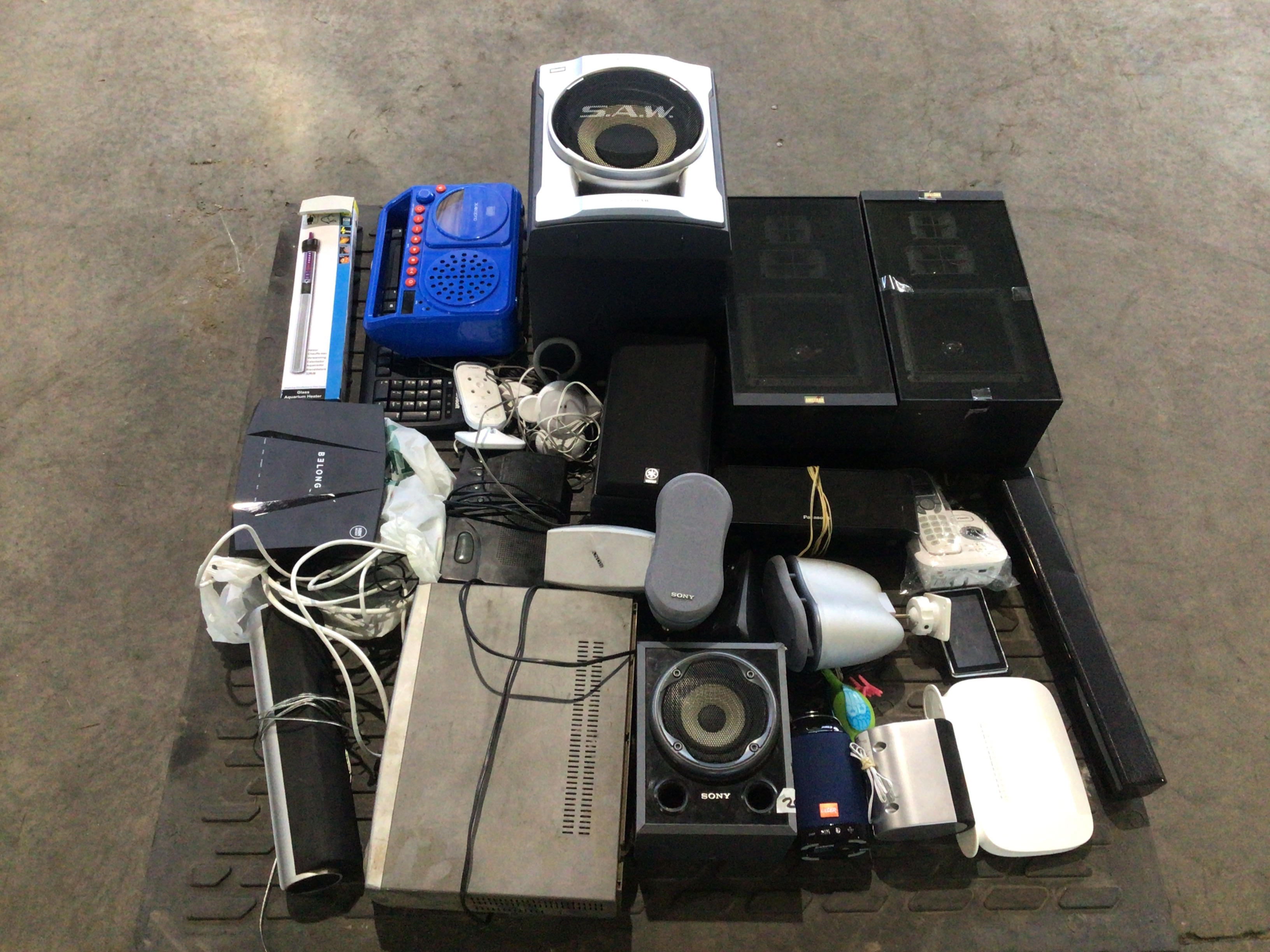 Speakers and Electrical Equipment.
