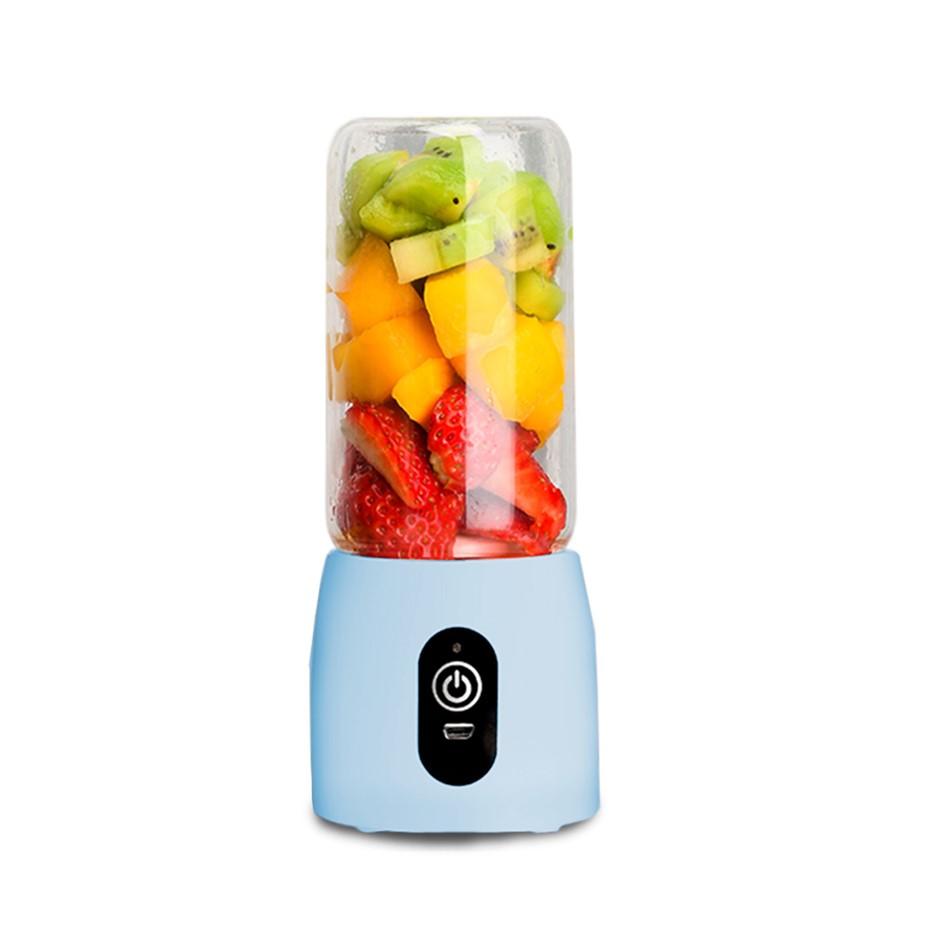 SOGA Portable Mini USB Rechargeable Handheld Juice Extractor Fruit Mixer