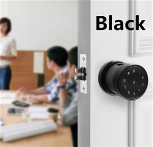 Smart Door Lock - Black