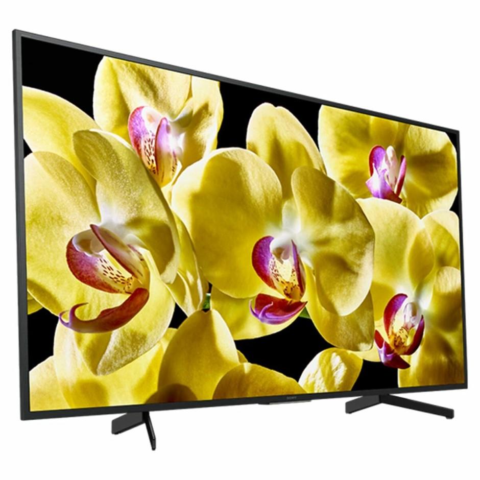 SONY 65`` Television c/w Remote & Stand, Model #KD-65X8000G N.B. In origina