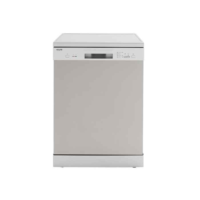 Euro 60cm Freestanding Stainless Steel Dishwasher, Model: EDV604SS