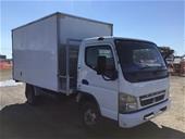 2010 Mitsubishi Fuso Canter 4 x 2 Pantech Truck
