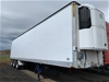 1995 Triaxle Refrigerated Pantech Trailer