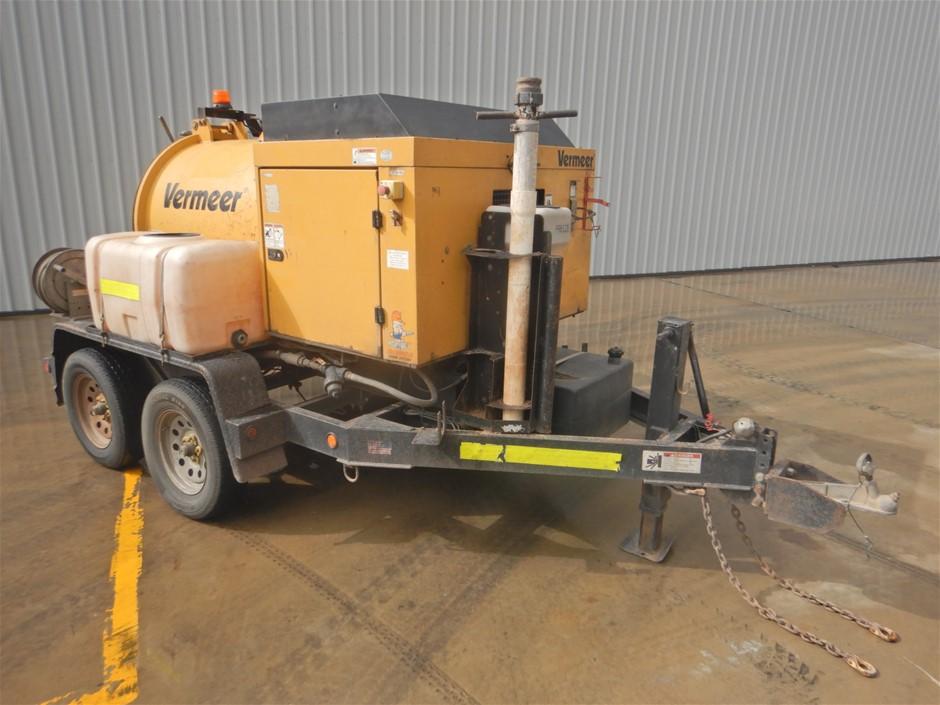 2012 Vermeer V250 Trailer Mounted Vacuum Excavator (Pooraka, SA)