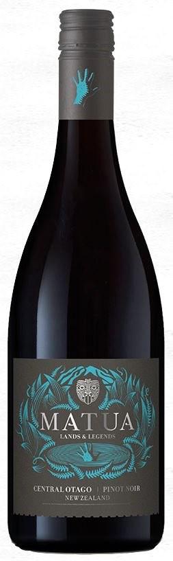Matua Lands & Legends Pinot Noir 2017 (6 x 750mL) Central Otago, NZ
