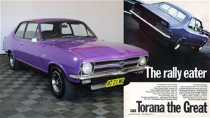 6/1970 HOLDEN LC TORANA GTR-XU1 (G.M.H.