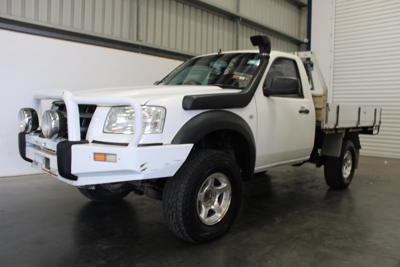 2008 Ford Ranger XL 4x4 Single PJ Turbo Diesel Manual Cab Chassis