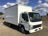 Unreserved 2007 Mitsubishi Canter 4 x 2 Pantech Truck