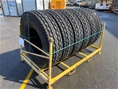 Unreserved Unused Machinery, Truck & Passenger Vehicle Tyres