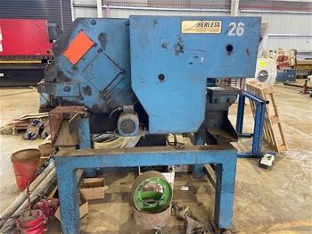 Herless 3 Phase Punch And Shear Machine
