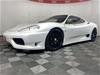 1999 Ferrari 360 Modena Automatic Coupe