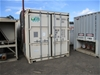 4x Variable Speed Drives and Switchboards Housed in 20' Container
