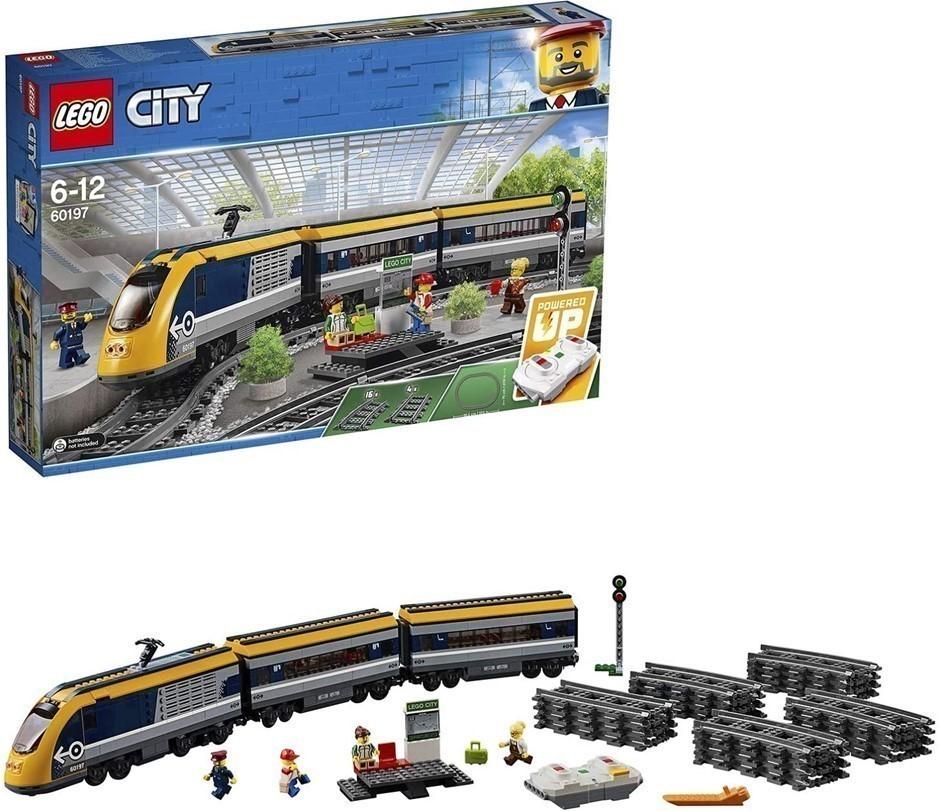 LEGO City Passenger Train 60197 Playset Toy, Ages 6+, 58.2 x 37.8 x 8.7 cm