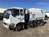 <p>2007 Nissan (Caterpillar)  HKB215 (MK240) 4 x 2 Sweeper Truck</p>