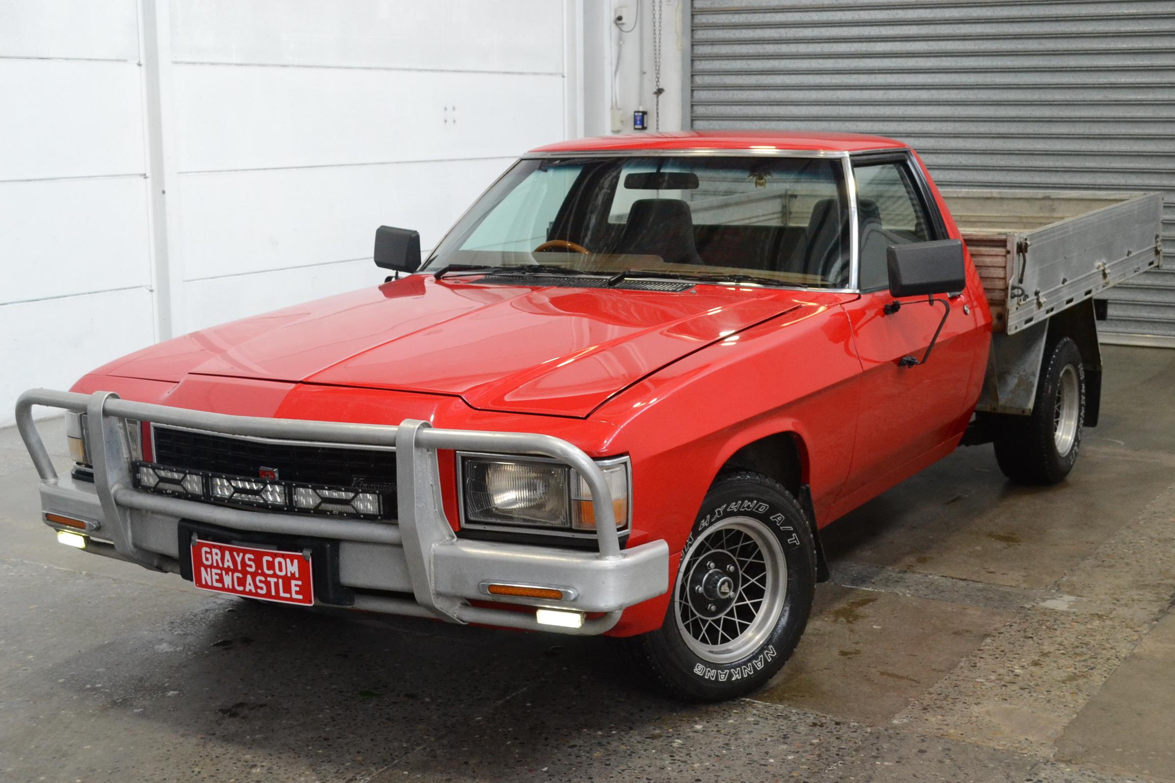 1981 Holden WB Kingswood Ute Automatic Utility EcoTec EFI