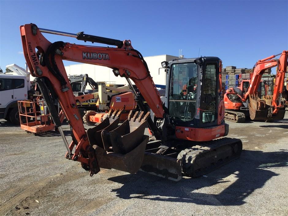 Kubota U55 Hydraulic Excavator