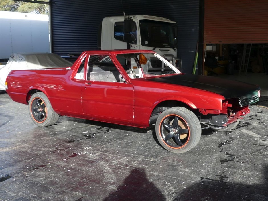08/90 Ford Falcon XF Ute Unfinished Project