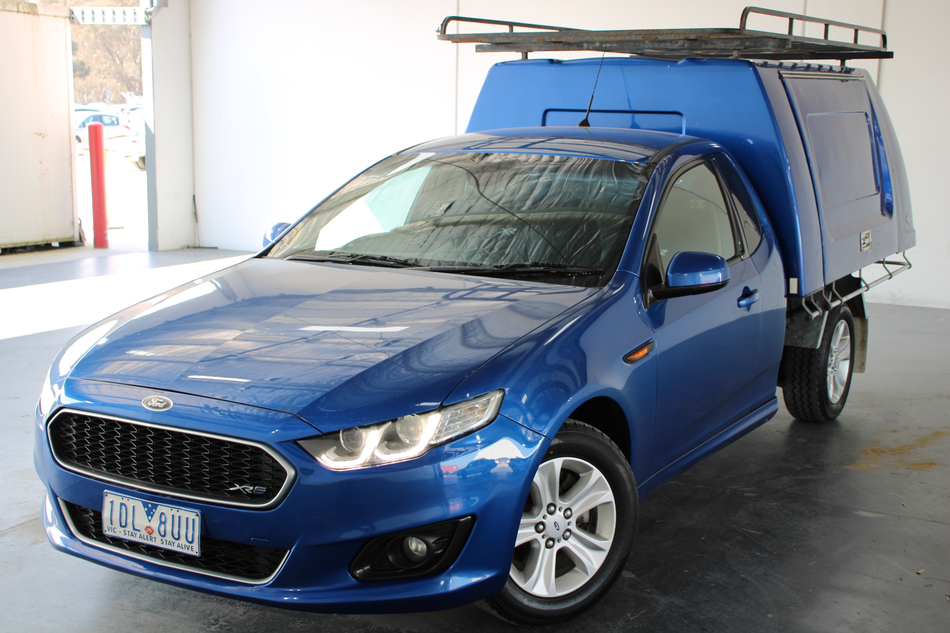 2014 Ford Falcon XR6 FG X Automatic Cab Chassis (RWC Issued 15-9-21)