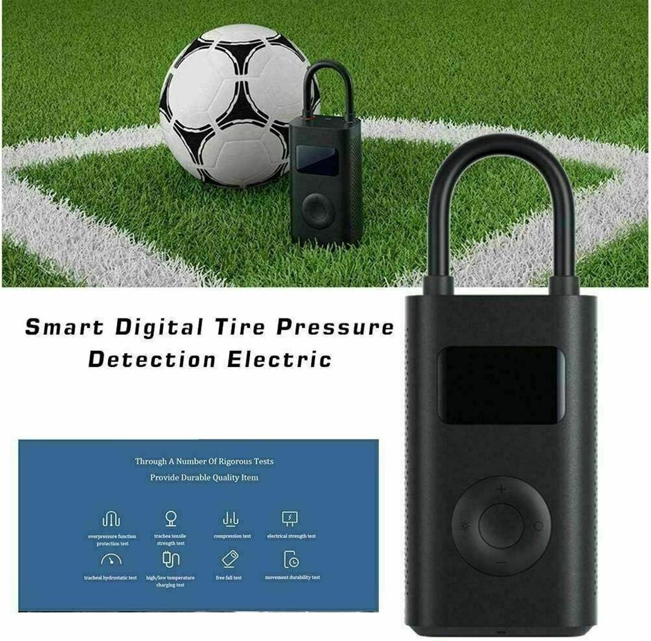 Xiaomi Portable Electric Air Compressor Smart Digital Tire Pumps Bike Mi