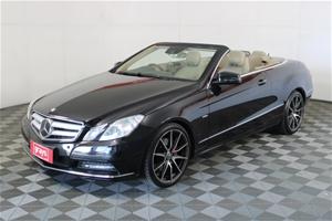 2012 Mercedes Benz E350 Avantgarde A207