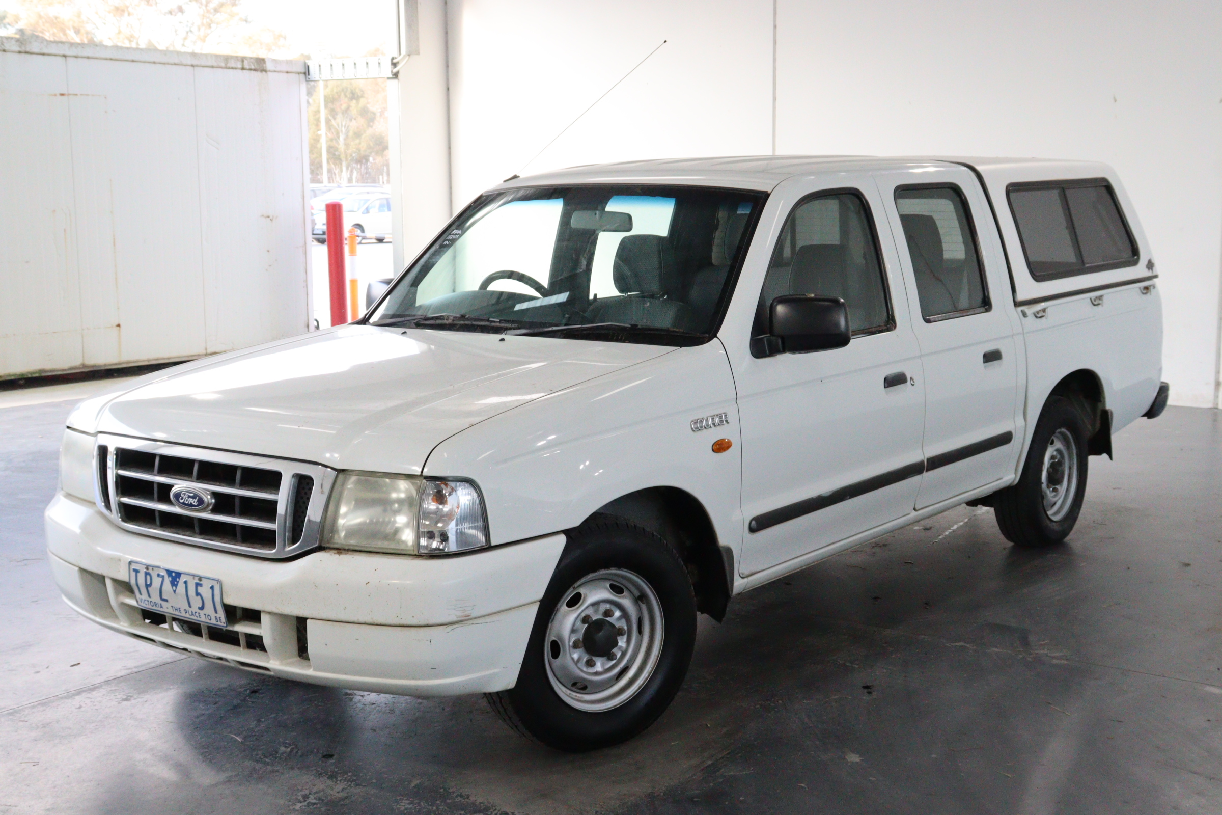 2004 Ford Courier XL 4X2 CREW CAB PG Manual Dual Cab